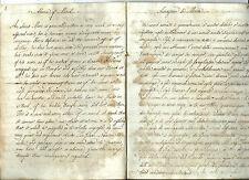Manoscritto Traduzione di Chesterfield Galateo Bon Ton Educazione del Gentiluomo
