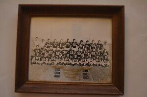 RARE Vintage Neff High School (La Mirada) Football Team Photo W/Autographs!