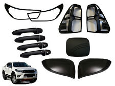 Black Out Accessories Package for Toyota Hilux SR5 - 5-Piece (8/2015 - 6/2018)