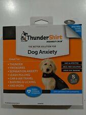 New listing Thundershirt Dog Small 15-25lbs Gray Solution Anxiety Thunder Fireworks Travel