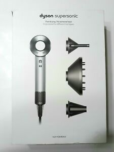 Dyson Supersonic Professional Edition Hair Dryer  HD02 Nickel COMPLETE NIB Set