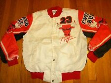 1990's Men's Stadium Jacket by Chalk Line, Chicago Bulls, Size S, Made in USA