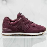NEW BALANCE SNEAKERS UOMO BORDEUAX ML574NFB