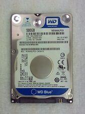 "Western Digital | WD Blue | WD5000LPCX | Hard Disk Drive | 2.5"" | 500GB"