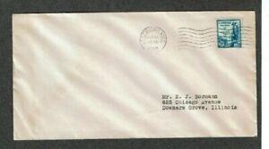 1933 FDC - Scott# 734 - Kosciuszko, MS Cancel - uncacheted
