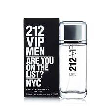 212 Vip Men Eau de Toilette Spray for Men by Carolina Herrera 6.8 oz.