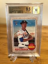 2017 Topps Heritage Cody Bellinger Real One Auto Red Ink (#51/68) BGS 9.5 GEM!