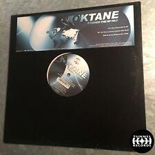 """12"""" Tunnel Kult Vinyl - Oktane - Change The World - TR Push Up 5017"""