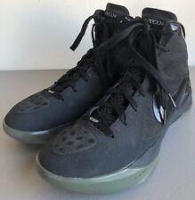 Nike Zoom Hyperdunk Flywire Black High Tops 454138-001 Men's Size 9 (1947)