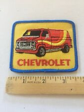 Chevrolet Patch Embroidered , Vintage Rare Chevy Van Patch Awesome