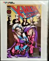 MARVEL Comics X-MEN CLASSIC #104 Rare Production Art Cover by Stelfreeze MAGNETO