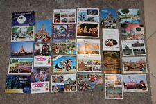 lot de  27 carte postale disney euro disney disneyland paris