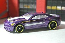 Hot Wheels '10 Chevy Camaro SS Purple Loose - 1:64