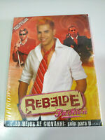RBD REBELDE FASHION GIOVANNI DVD + POSTER + POSTAL NEW NUEVO Y PRECINTADO - AM