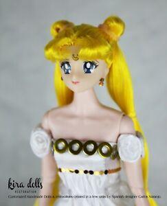 PRE-ORDER Sailor Moon Princess Serenity Doll Inspired Deluxe Handmade Kira Doll