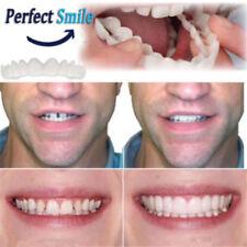 Snap On Bottom Upper False Teeth Dental Veneers Dentures Fake Tooth Smile
