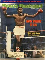 1979 Sports Illustrated Magazine December Welterweight Champ Sugar Ray Leonard