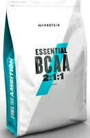 BCAA Pulver MyProtein 250g 500g 1kg verschieden Geschmacksrichtungen Aminos
