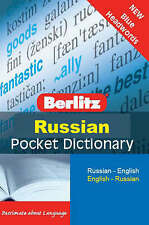 Good, Berlitz: Russian Pocket Dictionary: Russian-English : English-Russian (Ber