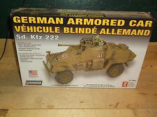 Lindberg 1:35 scale German Armored Car SD.KFZ  WWII Model Kit 76006