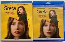 GRETA BLU RAY + SLIPCOVER SLEEVE FREE WORLD WIDE SHIPPING BUY IT NOW CHLOE GRACE