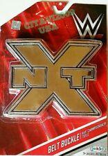 NEW! WWE NXT CHAMPION BELT BUCKLE KIDS CHILD SIZE WREATLING CHAMPIONSHIP