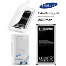 Samsung Genuine Galaxy S5 Extra Battery Kit battery charger with battery