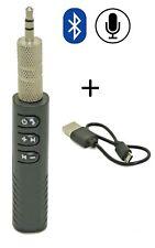 Bluetooth Receiver 4.2 Transmitter Audio Empfänger Adapter Auto 3.5mm AUX KFZ