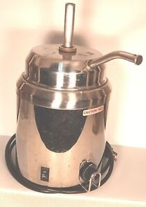 Server Products Hot Topping Warmer Steam Well Pump Food Server
