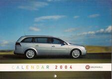 Vauxhall Calendar 2004 Corsa Tigra Astra Zafira Vectra Signum Monaro VX220