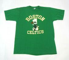 Boston Celtics Vintage 80's Official Nba Basketball Green T-Shirt Size Xl Artex