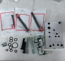 FORD TRACTOR HV5902 New Hydraulic Valve Adapter Plate Kit w/ O-Rings