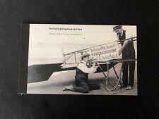 "Prestige Booklet Of Stamps ""First United Kingdom Aerial Post"""