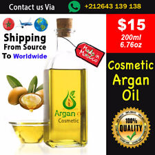 100% Pure Organic ARGAN OIL 200ml / For Treatment, Massage, Shipped from Source