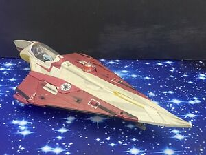 STAR WARS AOTC  ACTION FIGURE VEHICLE  REPUBLIC JEDI STARFIGHTER