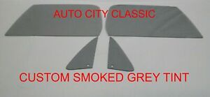 73 - 79 Chevy GMC Pickup Glass Vents Doors C10 K10 K5 Blazer Suburb Custom Grey