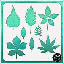 Autumn Leaves #3 - durable and reusable stencil for DIY painting & crafts