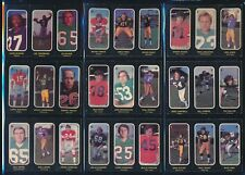 1972 O-Pee-Chee (CFL) Trio Stickers -Set (24) -JOE THEISMANN, MUSSO, MOSCA