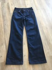 Portmans womens DARK blue denim jeans  WITH WIDER FIT NEARLY NEW FLARE