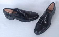 Versace Cap Toe Oxford- Black- Size 11 US/ 45 EU  $590  (H7)