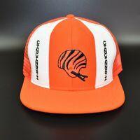 Cincinnati Bengals AJD Lucky Stripes NFL Vintage 80's Trucker Snapback Cap Hat