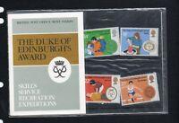 QEII 1981 Presentation Pack The Duke of Edinburgh's Award Stamps