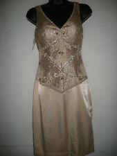 Nuevo vestido formal Sue Wong desnudo US0, UK4/6 PVP £ 269