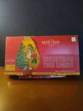 1940'S Vintage Happy Time Christmas Tree Lights .7 Light Set Up. In Original B