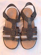 Easy Street Women,s Ankle Strap Sandals Size 5 (W21)