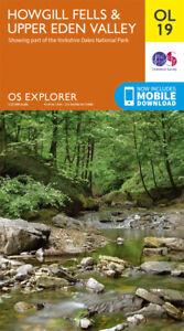 OL19 Howgill Fells & Upper Eden Valley Ordnance Survey Explorer Map OL 19