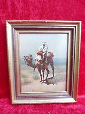 schönes,altes Gemälde__Araber auf Kamel________ !