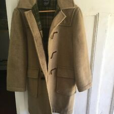 Vintage Wool Coat Blazer Made In England Duffle Gloverall Womens No Size