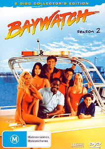 BAYWATCH - COMPLETE SEASON 2 (COLLECTOR'S EDITION) 6 DISC BOX SET DVD