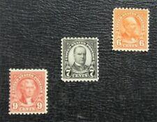 nystamps US Stamp # 587//590 Mint OG NH $62   L23x1514